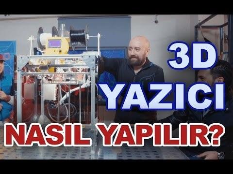 3D printer nasıl yapılır. Kendin Yap!