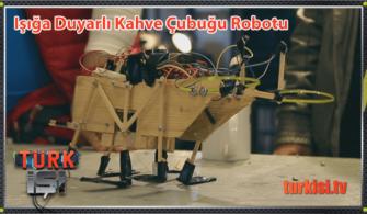 Kahve Çubuğundan Işığa Duyarlı Darbe Sensörlü Robot Nasıl Yapılır?