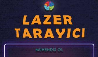 3D Lazer Tarayıcı Nasıl Yapılır? Kendin Yap!