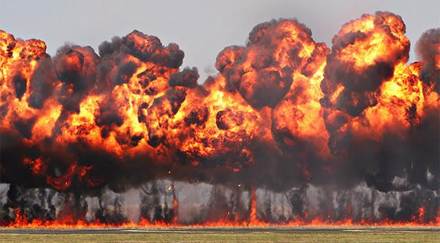 Suriyeye Atılan Napalm Bombası