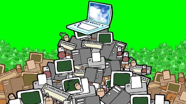 Teknolojiden oluşturduğumuz atıklar