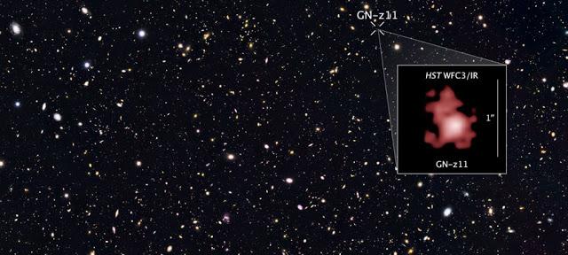 Hubble en uzak galaksiyi görüntülüyor…