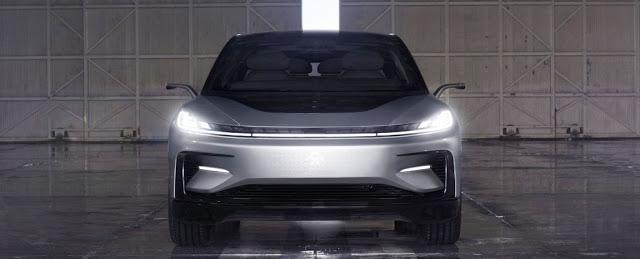 Faraday Future Elektrikli Otomobilini Açıkladı