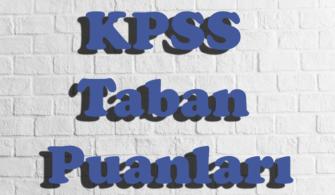 Mühendislik Bölümleri KPSS 2017/1