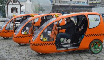 Çevreci Bisiklet Taksiler