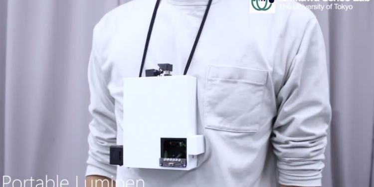 Boyuna Asılan Projektör: Portable Lumipen