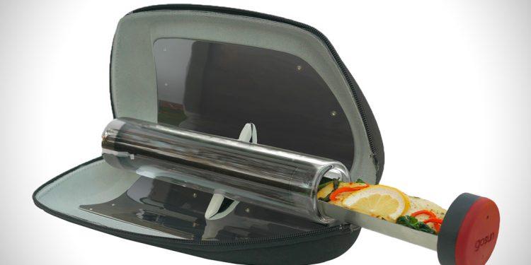 Açık Havada Yemek Pişirebilen Güneş Enerjili Yemek Tankı: Fusion